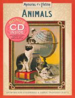 Animals : Artwork for Scrapbooks and Fabric-transfer Crafts - Kathy Alpert