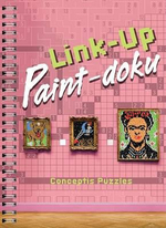 Link-Up Paint-Doku : Includes Six Coloured Pencils! - Conceptis Puzzles
