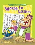 Words to Learn : First Word Search - Gary Lacoste