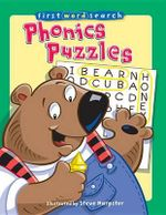 First Word Search : Phonics Puzzles - Steve Harpster