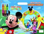 Mickey Mouse Clubhouse : Artist Pad with Crayons and Stickers - Dalmatian Press