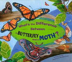 What's the Difference Between a Butterfly and a Moth? : What's the Difference? (Capstone) - Robin Michal Koontz
