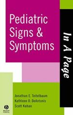 In A Page Pediatric Signs & Symptoms - Jonathan Teitelbaum