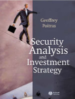 Security Analysis and Investment Strategy - Geoffrey Poitras