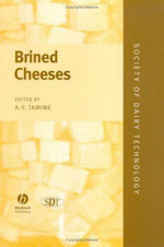 Brined Cheeses : Society of Dairy Technology