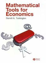 Mathematical Tools for Economics - Darrell A. Turkington