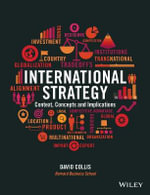 International Strategy : Context, Concepts and Implications - David Collis