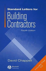 Standard Letters for Building Contractors - David Chappell