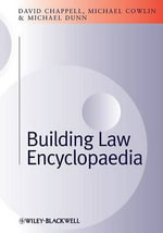 Building Law Encyclopaedia - David Chappell