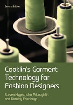 Cooklin's Garment Technology for Fashion Designers - Gerry Cooklin