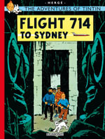 Flight 714 : The Adventures of Tintin Series : Book 22 - Herge