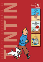 The Adventures of Tintin : Volume 4 :  The Crab with the Golden Claws / The Shooting Star / The Secret of the Unicorn - Herge