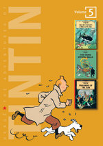 The Adventures of Tintin : Volume 5 :  Red Rackhams Treasure / The Seven Crystal Balls / Prisoners of the Sun - Herge