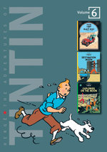 The Adventures of Tintin : Volume 6 :  Land of Black Gold / Destination Moon / Explorers on the Moon - Herge