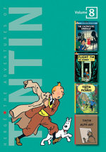 The Adventures of Tintin Volume 8 :  The Castafiore Emerald / Flight 714 to Sydney / Tintin and the Picaros / Tintin and Alph Art - Herge