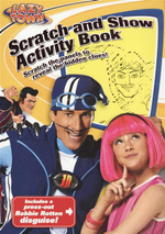 Lazy town-Scratch and Show Activity Book