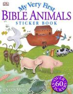 My Very First Bible Animals Sticker Book - Diane Mayo