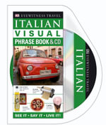 DK Eyewitness Visual Phrase Book : Italian (with CD) - DK Publishing