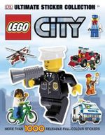 LEGO City Ultimate Sticker Collection : More Than 1000 Reusable Full-Colour Stickers - DK Publishing