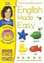 English Made Easy Preschool Early Reading Ages 3-5 - Carol Vorderman