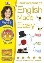 English Made Easy Rhyming Preschool Ages 3-5 : Carol Vorderman's English Made Easy - Carol Vorderman