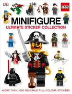 LEGO Minifigure Ultimate Sticker Collection : More Than 1000 Reusable Full-Colour Stickers - DK