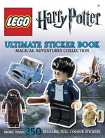 LEGO Harry Potter Ultimate Sticker Book : Magical Adventures Collection : More Than 250 Reusable Full-Colour Stickers - DK
