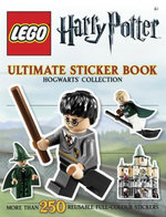 LEGO Harry Potter Ultimate Sticker Book : Hogwarts  Collection : More Than 250 Reusable Full-Colour Stickers - Dorling Kindersley