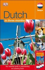 Hugo: Dutch In Three Months CD Course - DK Publishing