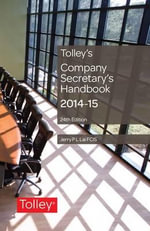 Tolley's Company Secretary's Handbook - Jerry P. L. Lai