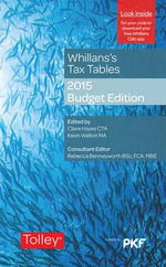 Whillans's Tax Tables 2015 - Claire Hayes