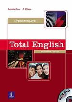 Total English Intermediate Student's Book and DVD Pack - Antonia Clare