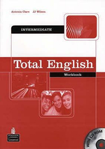 Total English Intermediate Workbook without Key and CD-Rom Pack :  Workbook (No Key but with CD-Rom) - Antonia Clare