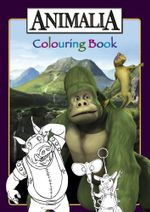 Animalia Colouring Book - BBC