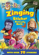 ZingZillas : Zinging Sticker Activity - BBC