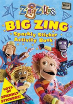 ZingZillas :  Big Zing Sparkly Sticker Activity Book