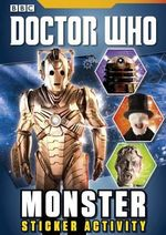 Doctor Who : Monster Sticker Activity Book : Doctor Who - BBC