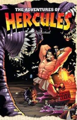 The Adventures of Hercules : Graphic Fiction: Graphic Myths - Martin Powell