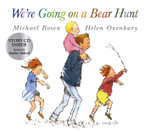 We're Going on a Bear Hunt  (Paperback with CD) - Michael Rosen