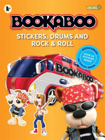Bookaboo : Stickers, Drums and Rock & Roll - Lucy Goodman