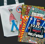 Where's Wally Bag Containing 6 Books - Martin Handford