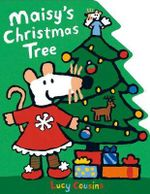Maisy's Christmas Tree Shaped Board Book - Lucy Cousins