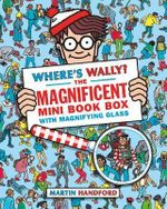 Where's Wally? The Magnificent Mini Book Box - 5 Books & Magnifying Glass - Martin Handford