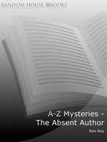 A-Z Mysteries - The Absent Author - Ron Roy