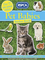 Pet Babies Sticker Book - RSPCA