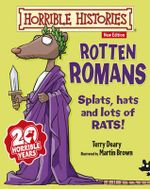 Rotten Romans : Horrible Histories Stories - Junior Edition - Terry Deary