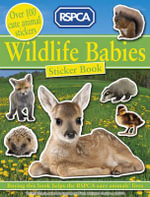 Wildlife Babies Sticker Book - RSPCA