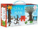 Stick Man Book & Floor Puzzle Gift Set - Julia Donaldson