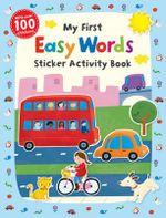 My First Easy Words Sticker Activity Book - Jannie Ho