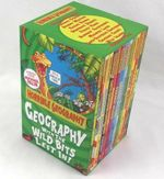 Horrible Geography Collection : 12 Books Box Gift Set - Geography with the wild bits left in! - Anita Ganeri